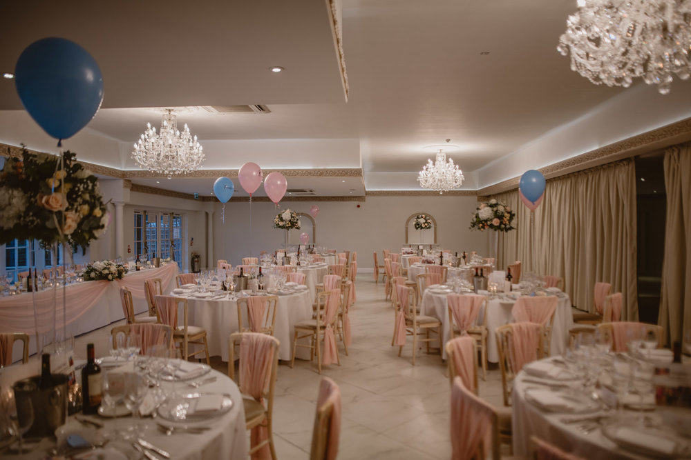 Froyle Park Reception Decor