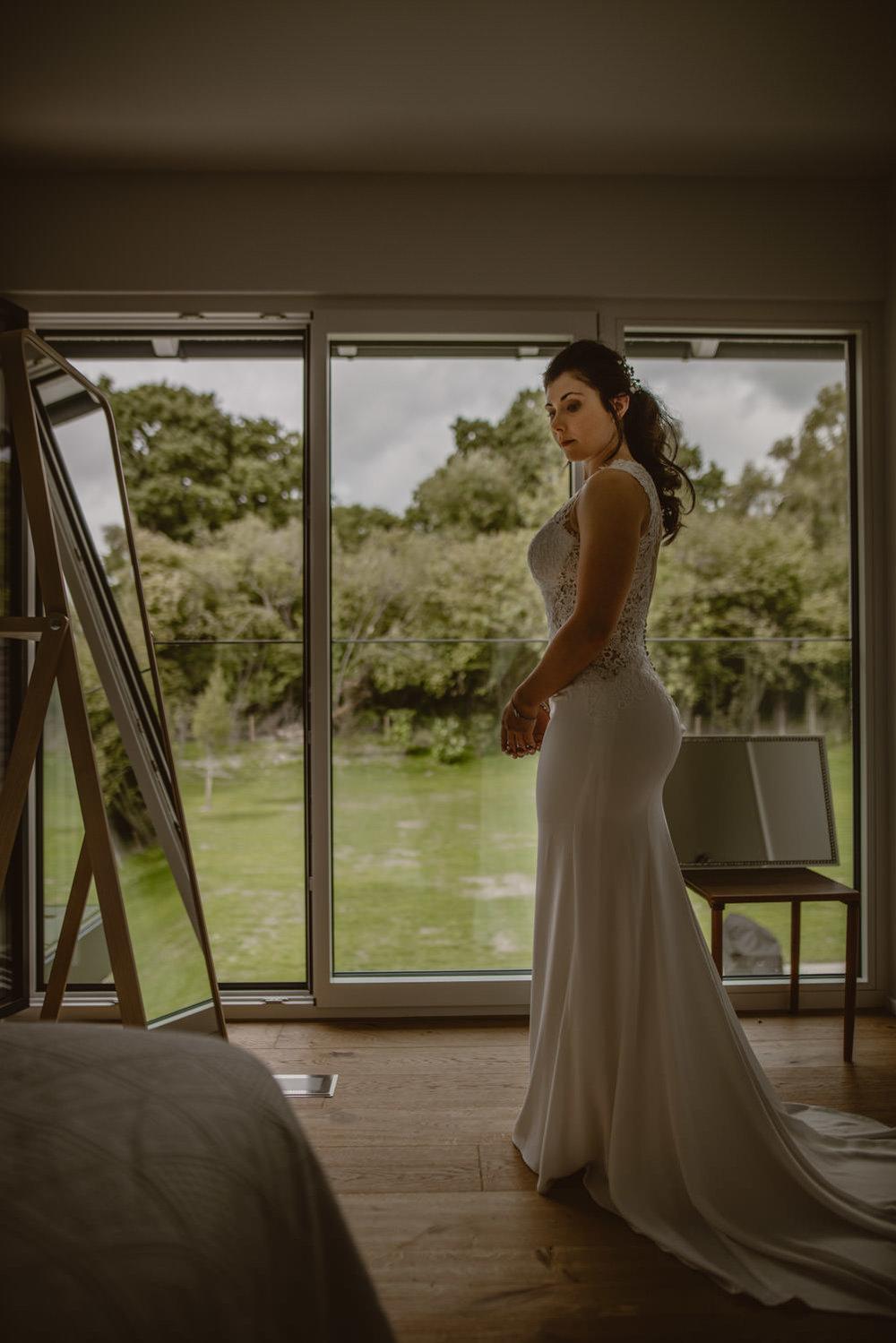 bridal dress wedding photography