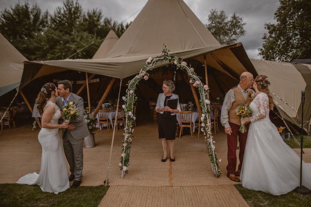 Same-sex gay wedding photographer