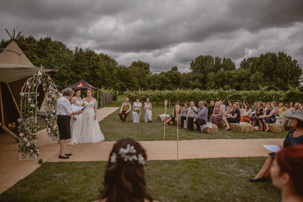 Vineyard Wedding in Hampshire