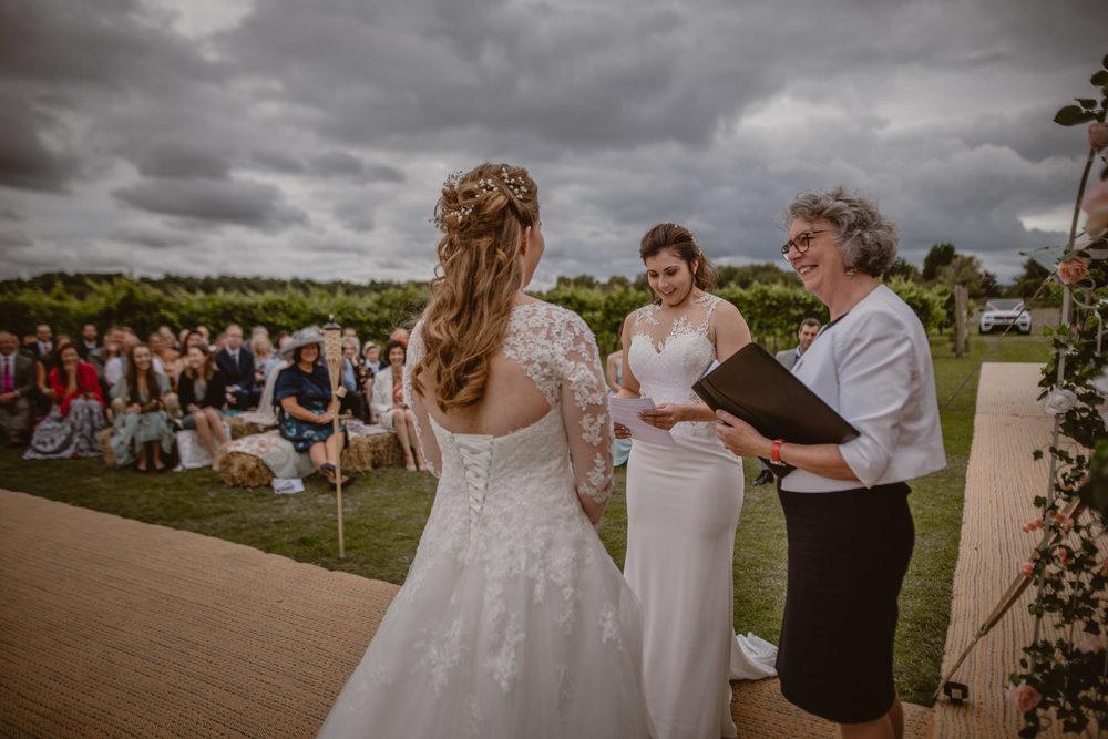Gay wedding in Hampshire
