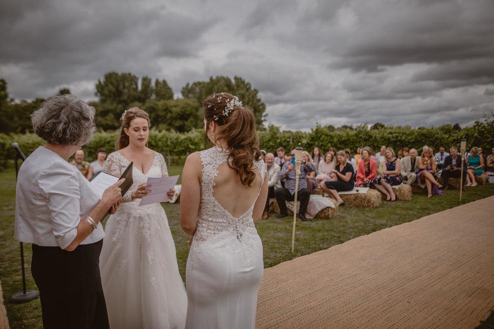 Same-sex wedding in Hampshire