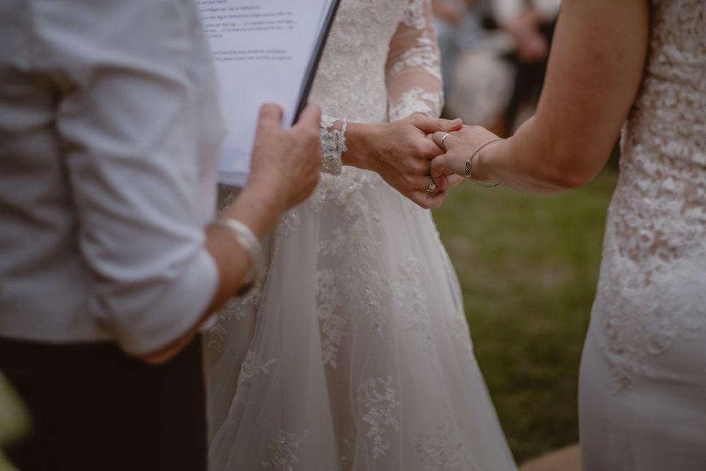 Same-sex wedding Rings