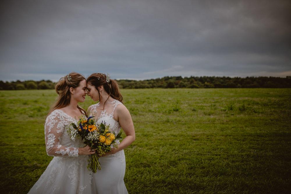 Romantic Same-sex Wedding Photos
