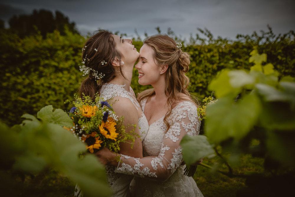 Romantic Gay Wedding Photos in Hampshire