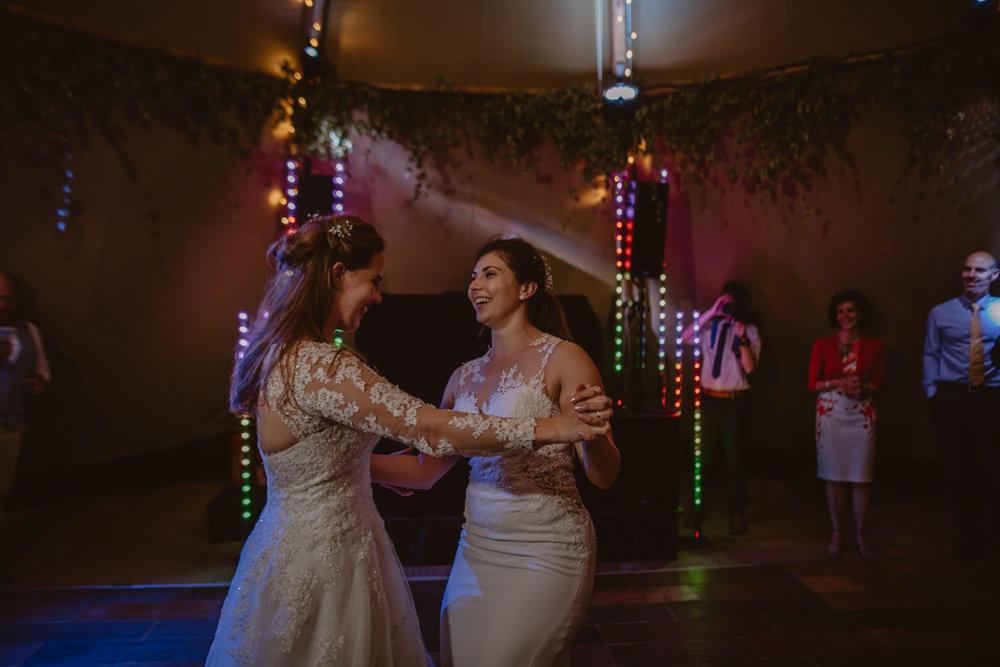 Same-sex Wedding First Dance