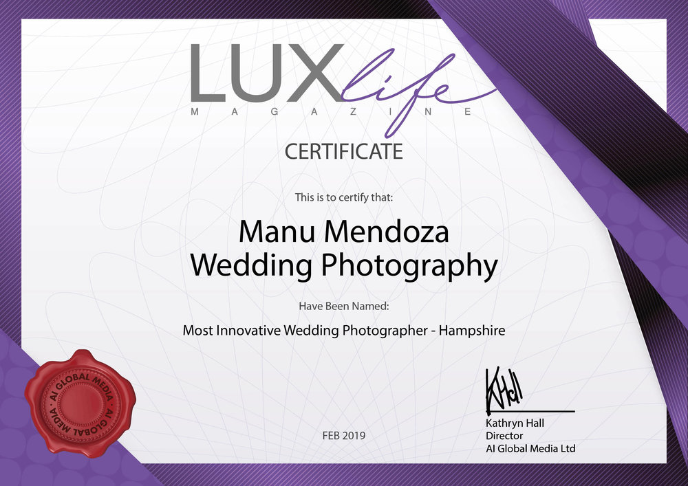 Award Winning Wedding Photographer - Manu Mendoza Wedding Photography