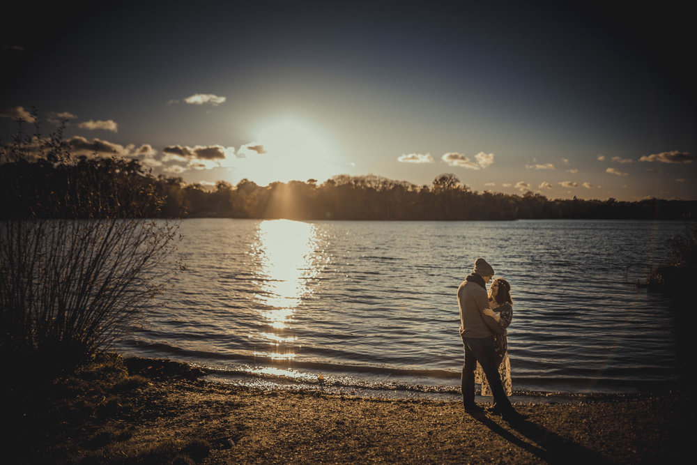 Engagement Pictures at Virginia Water Lake