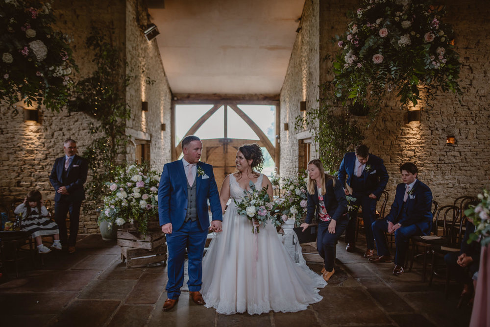 Wedding Cripps Barn Gloucestershire