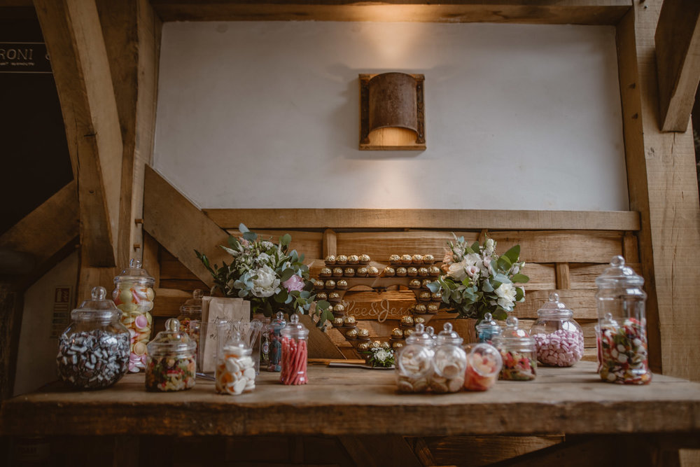 Wedding Inspiration Desert Table