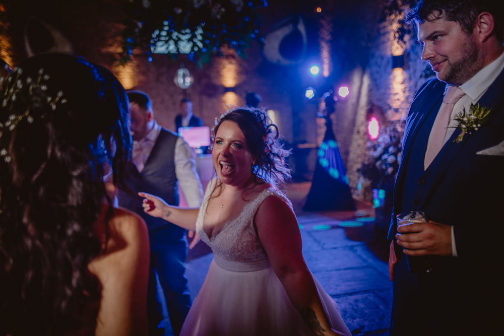 Wedding Party at Cripps Barn Gloucestershire