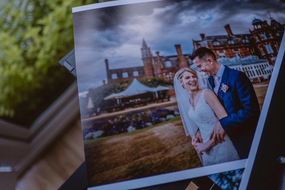 Professional Printed Wedding Photos