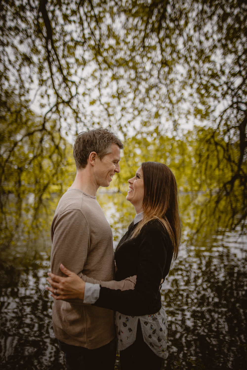 Engagement session in Marlow