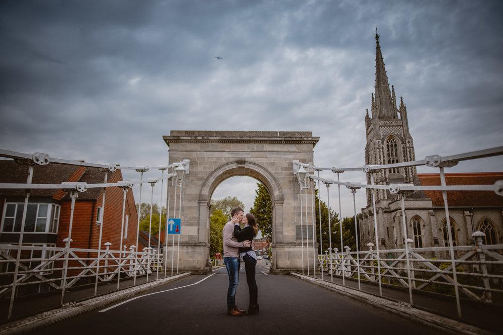 Marlow Bridge Wedding Photos