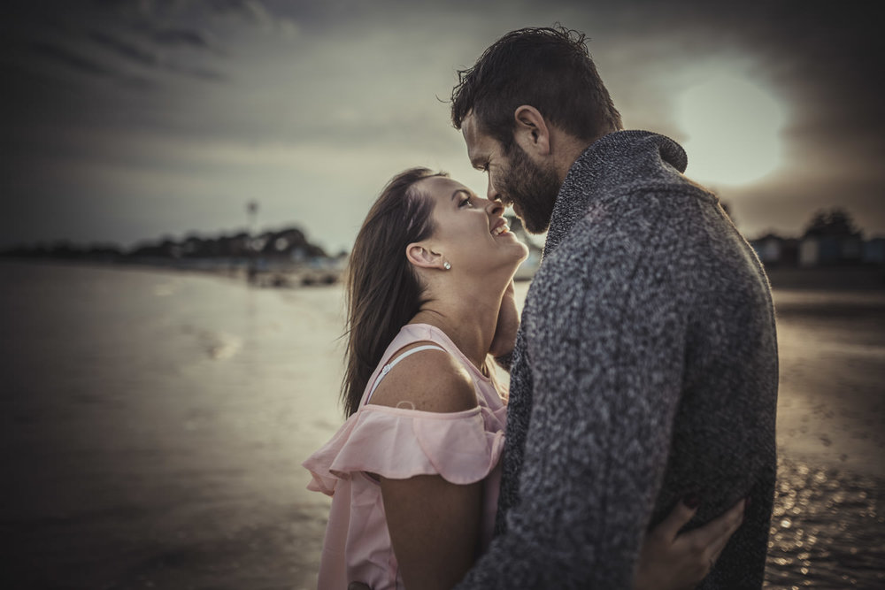 Engagement photos in Christchurch