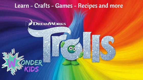 Trolls Desk Buddy from Wonder Kids
