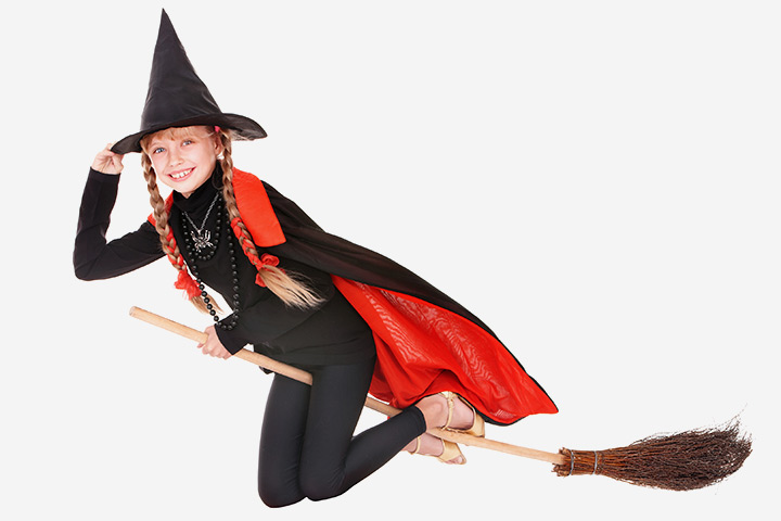 Witch Relay race from Wonder Kids