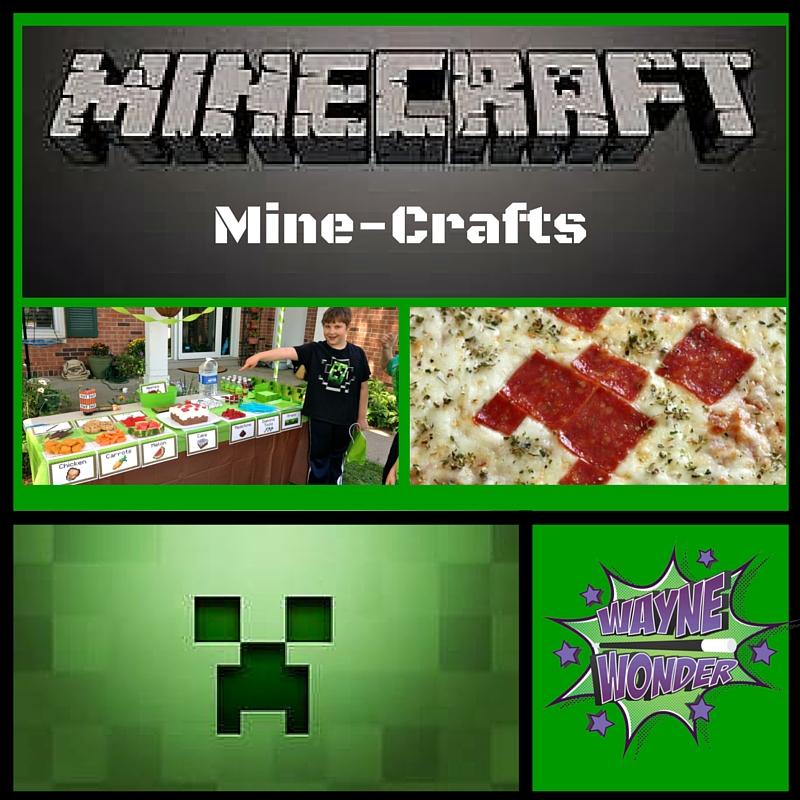 Minecraft Crafts from Wonder Kids