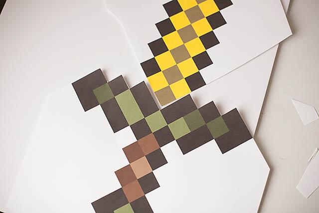 Minecraft Sword 1