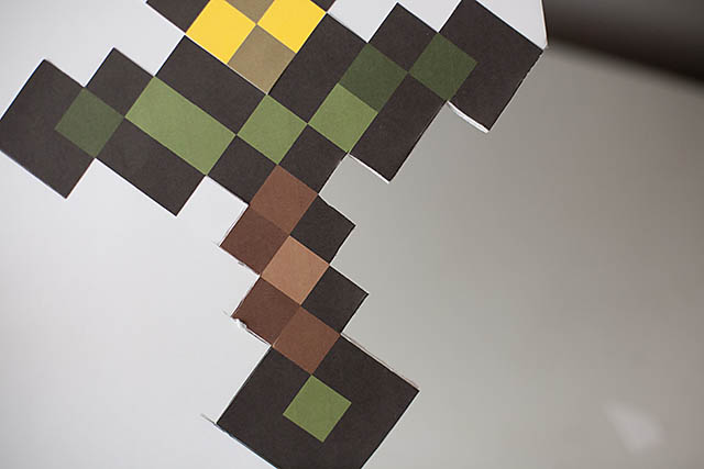 Minecraft sword 2