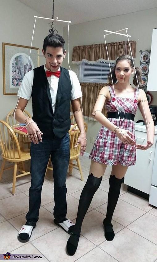 Marionettes Pupet costume