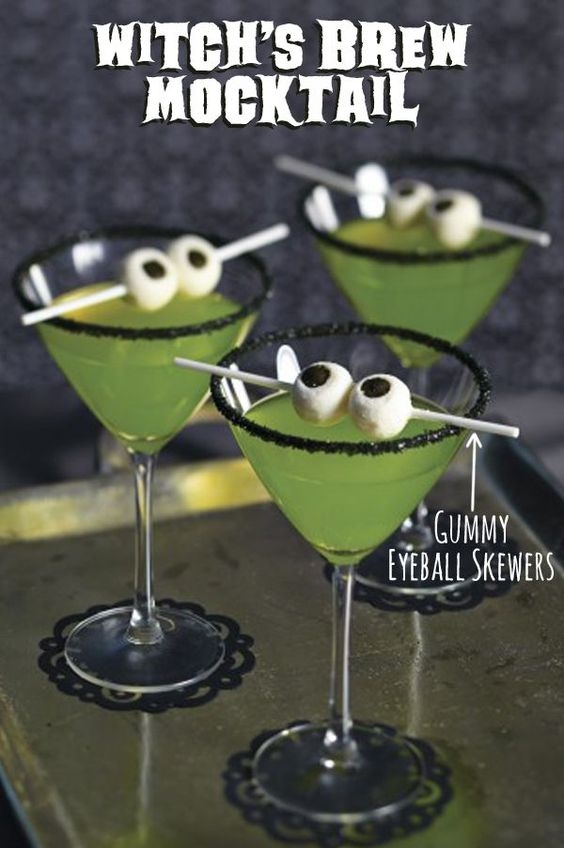 Witch's brew Mocktail