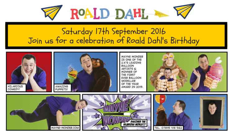 Roald Dahl The Witches fun for Kids