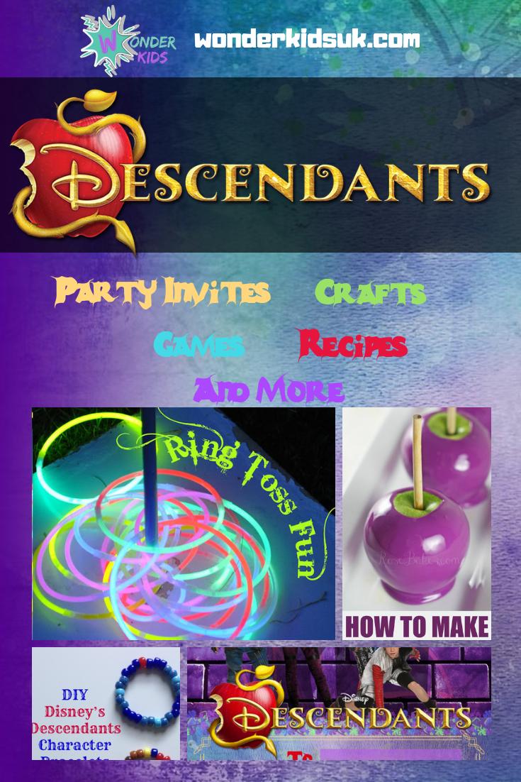 Descendants Party Wonder Kids