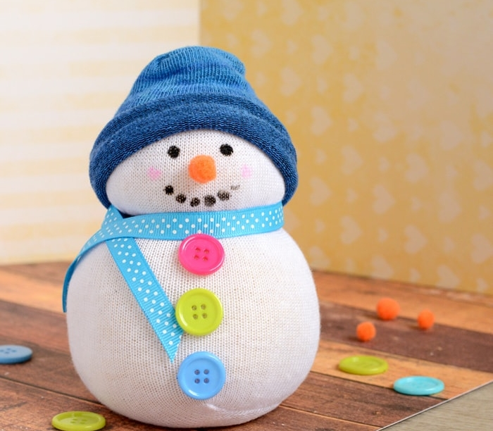 Sock Snowman from Wonder Kids