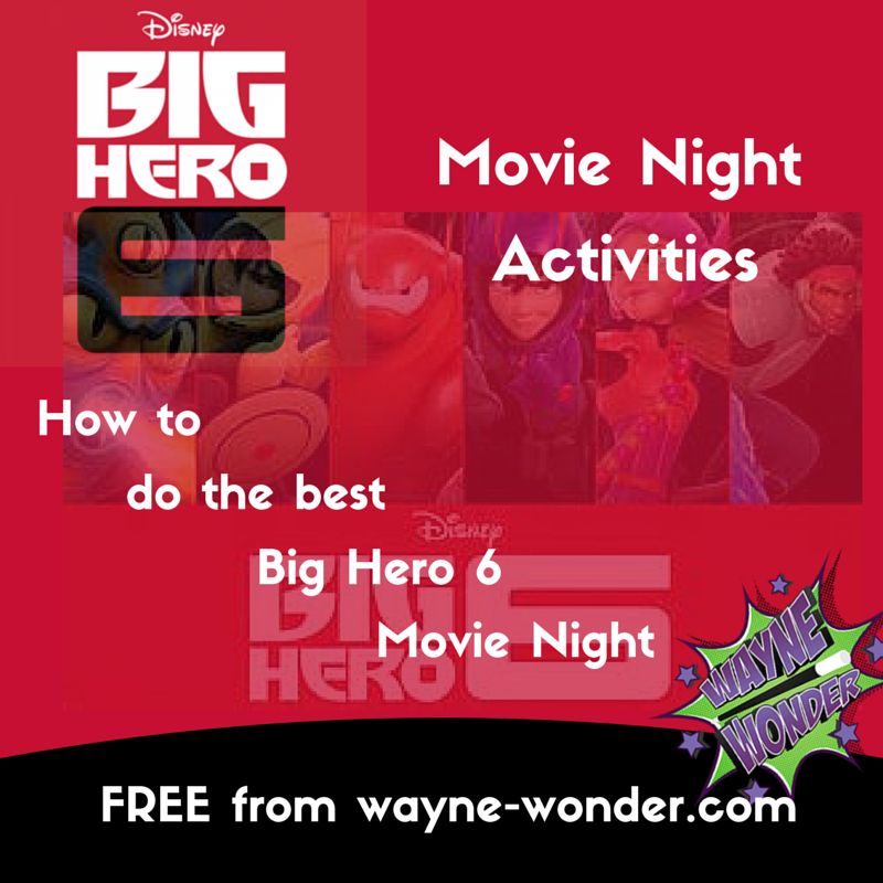 Big Hero 6 Family Fun from Wonder Kids