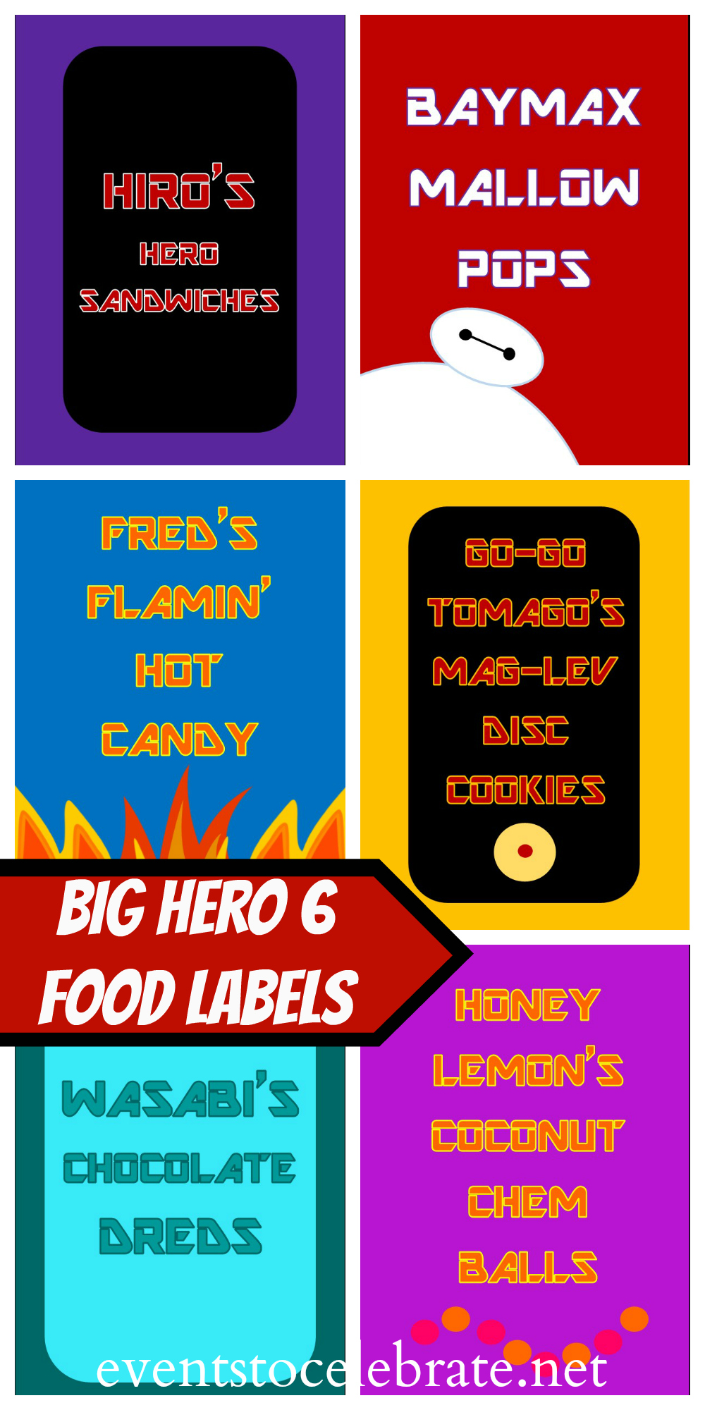 Food Labels Big Hero