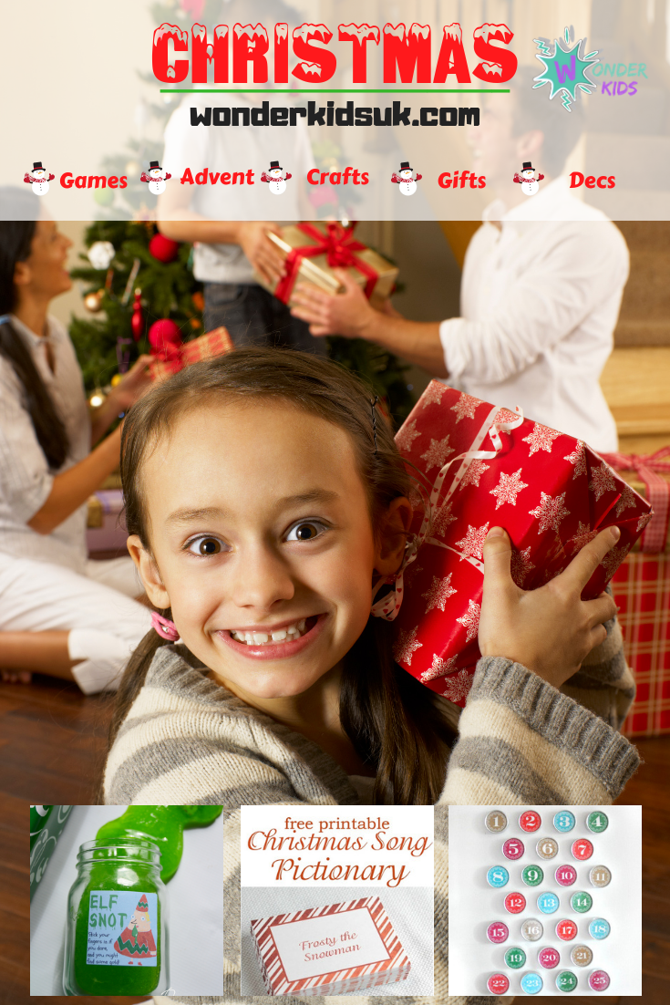 Christmas Games from Wonder kIds