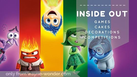 Inside Out Masks from Wonder Kids