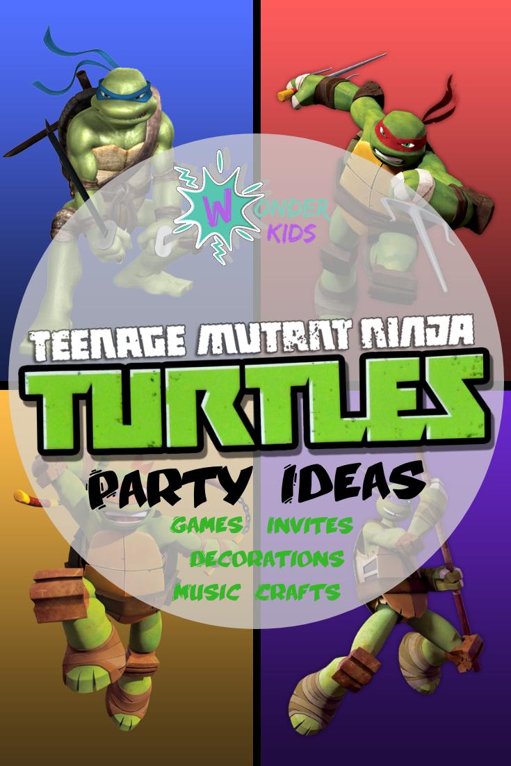Teenage Mutant Ninja Turtles Crafts Wonder Kids