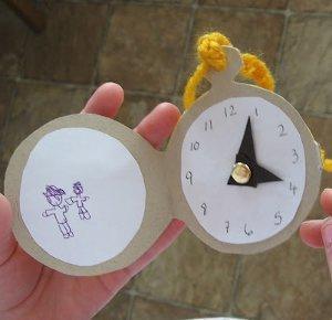 Alice in Wonder Pocket Watch Craft