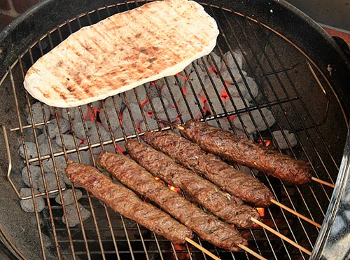 Egyptian lamb kebabs Wonder Kids