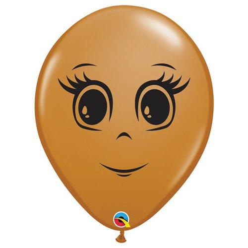 Face Balloon Mocha
