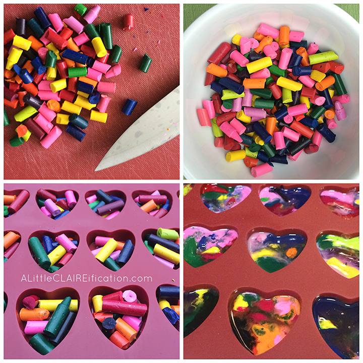 Crayon Hearts from Wonder Kids