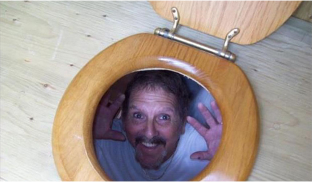 Toilet Prank April fools Day
