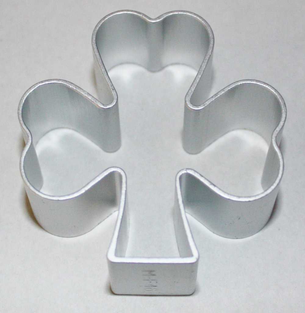 Shamrock Cookie Cutter available on Amazon