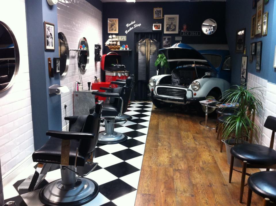Rocket Barber Shop 401 Hackney Road Beard Wine