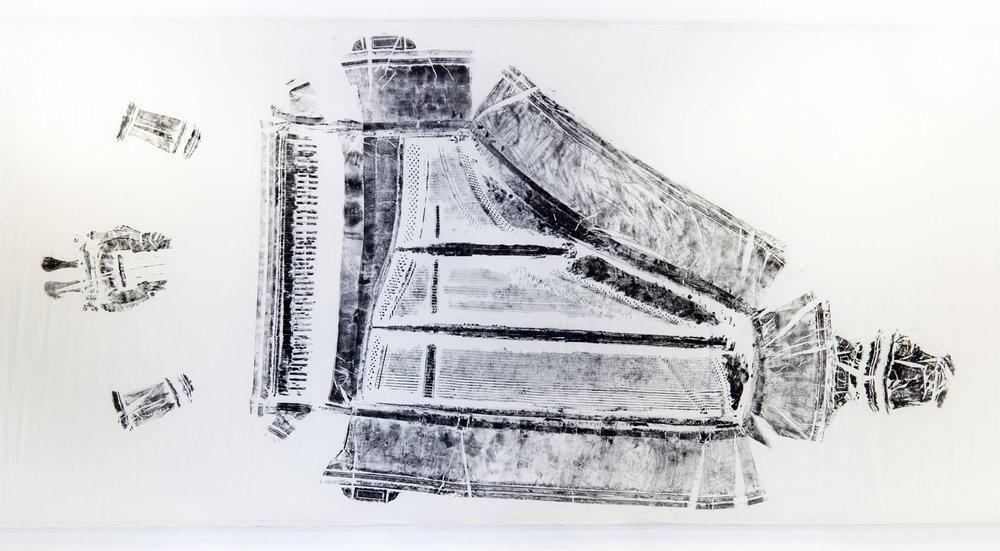 Grand Piano, 2017, Printmaking, 506cm x 240cm, Jay Price