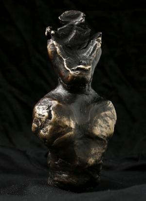 The Witness, 2017, Bronze Sculpture,Henry Hussey