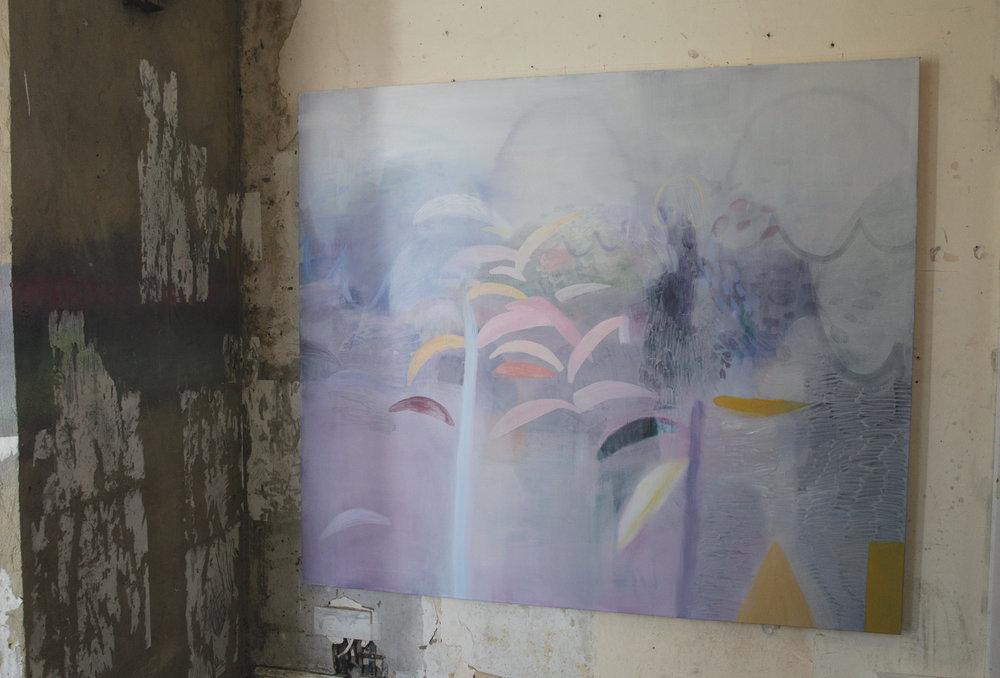 Floss, 2016 by Jade Fadojutimi