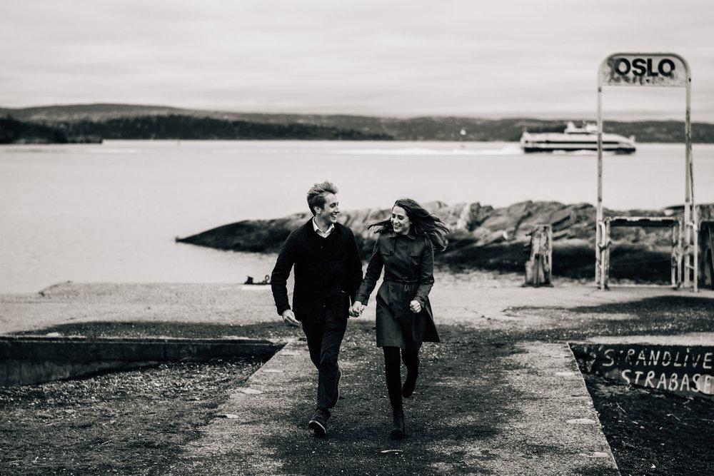 Bilde fra Huk utenfor Oslo