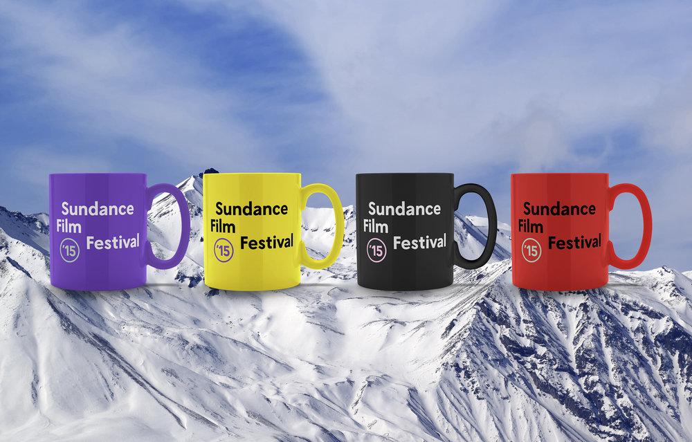 """Sundance Institute is a nonprofit organization dedicated to the discovery and development of independent artists and audiences.For the 2015 Film Festival, we designed a campaign that plays off the """"sun""""logo, turning it into an eclipse where the artist and festival come together to form something bigger than their own. -"""