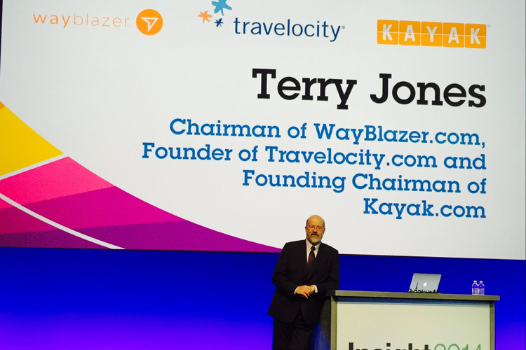 Terry Jones Chairman of WayBlazer.com, Founder of Travelocity.com and Founding Chairman of Kayak.com