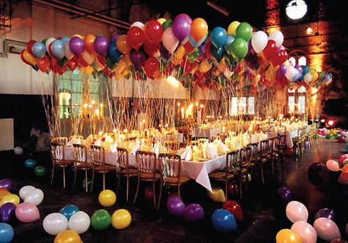 A Simple And Inexpensive Way To Liven Up Any Birthday Party Is Add Some Flare Your Balloons Try Wrapping In Tulle Filling Them With