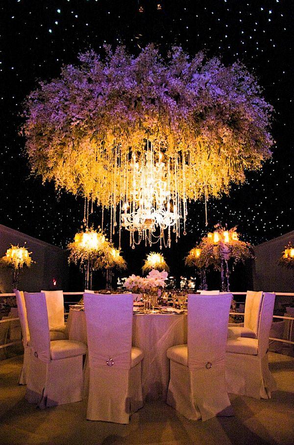 Grand Floral Chandelier