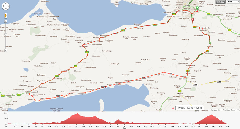 Lacey Cup Route